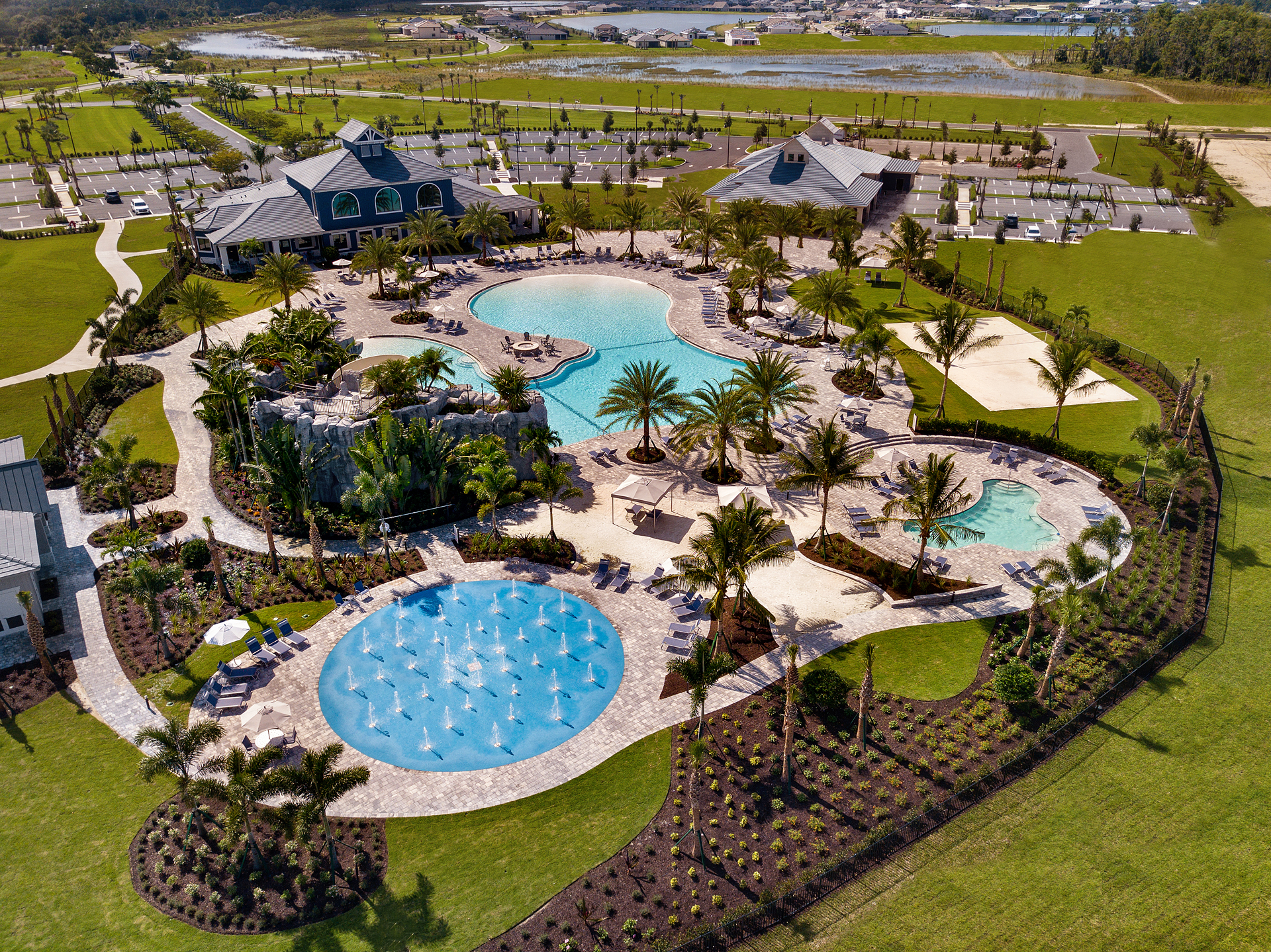 The Place Amenity Aerial