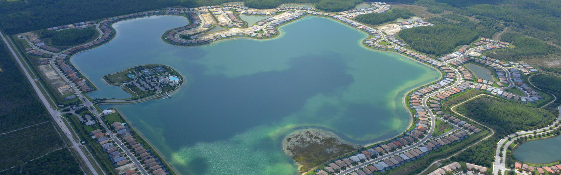 Corkscrew Shores Amenity Aerial-
